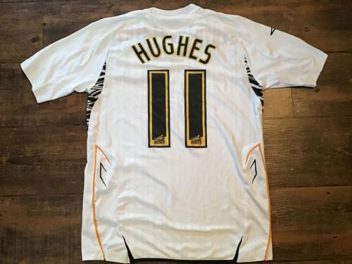 2007 2008 Hull City Hughes Away Football Shirt Small